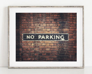 Lisa Russo Fine Art Travel Photography No Parking <br>London Photography