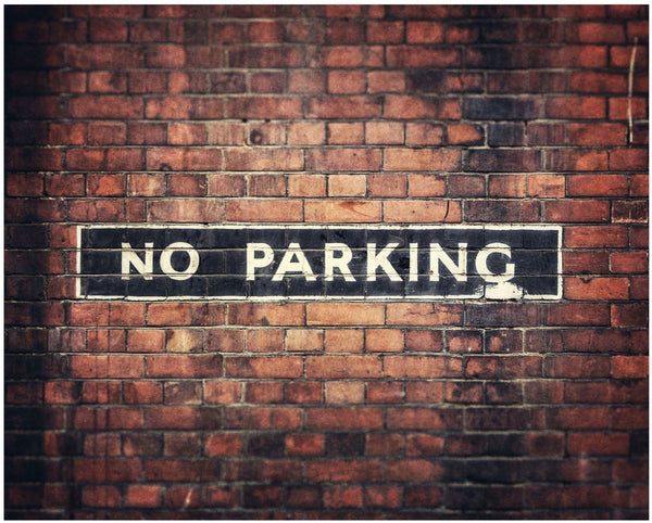 Lisa Russo Fine Art Travel Photography No Parking • London