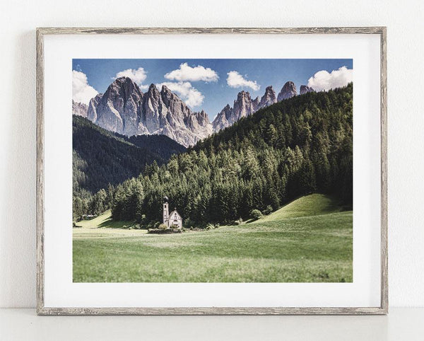 Lisa Russo Fine Art Travel Photography San Giovanni in Ranui <br>Italian Alps Landscape