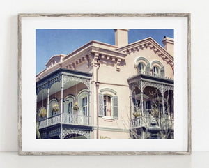 Lisa Russo Fine Art Travel Photography The Pink House <br>New Orleans Photography