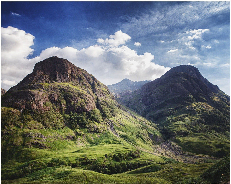 Lisa Russo Fine Art Travel Photography The Three Sisters • Glencoe, Scotland