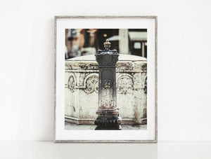 Lisa Russo Fine Art Travel Photography Venice Fountain <br>Italy Photography
