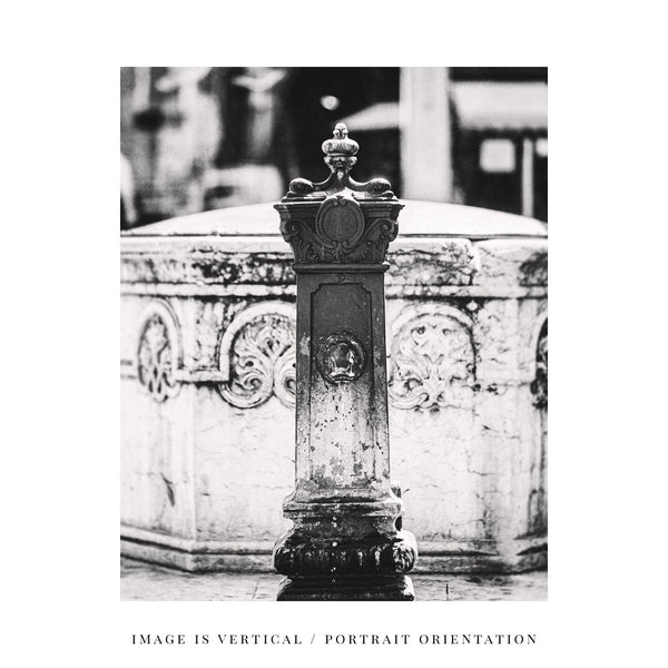 Lisa Russo Fine Art Travel Photography Venice Fountain • Italy