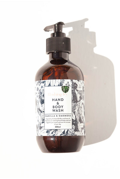 Hand & Body Wash - Vanilla & Oakmoss