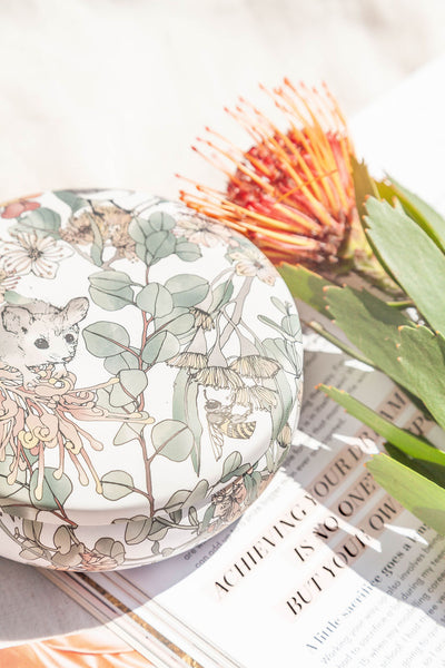 Australiana Fairytale Candle - Bush Florals & Native Honey
