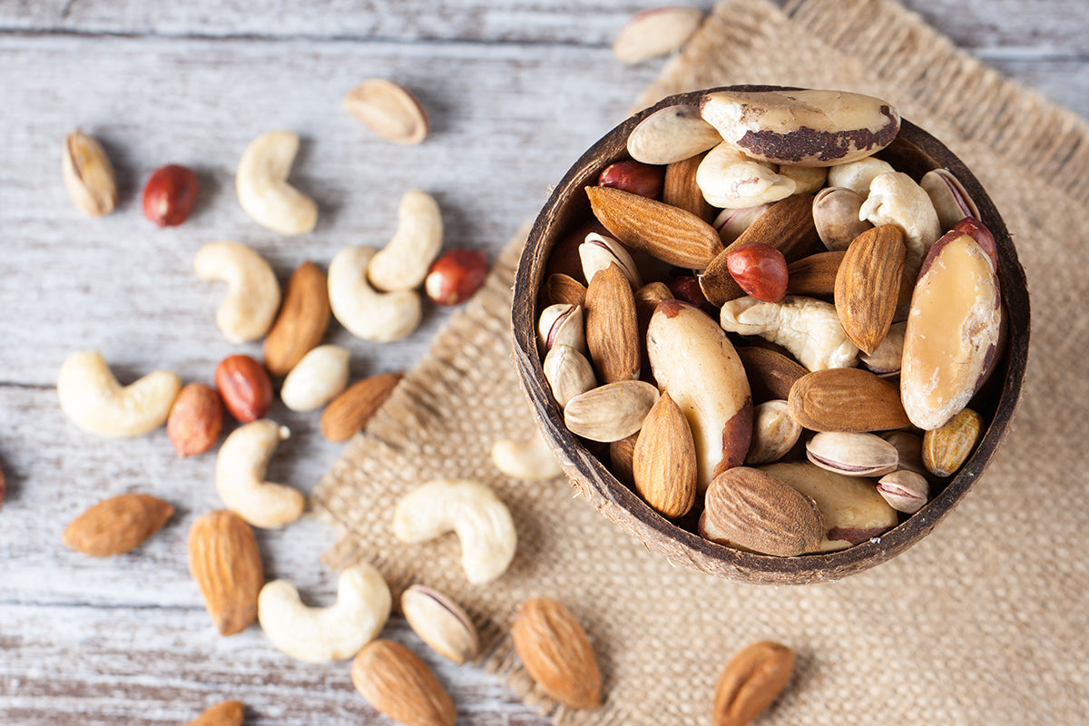 Nuts: The Perfect, Healthy, Versatile Snack