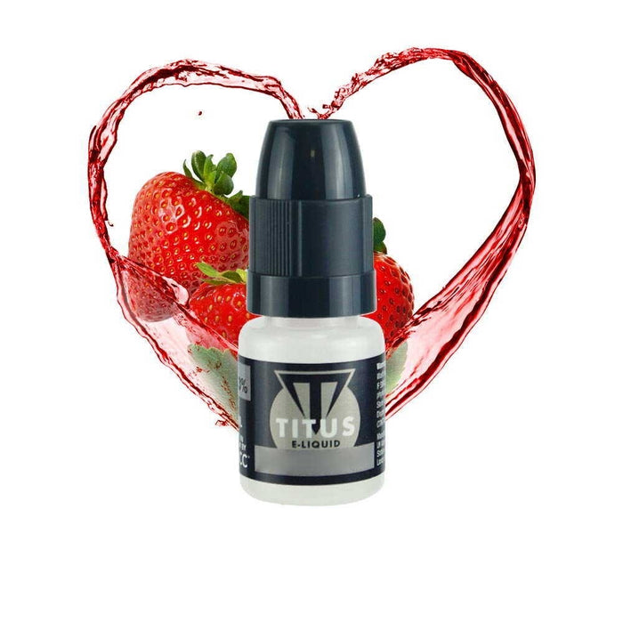 TECC Titus Strawberry Sensation 10ml E-Liquid