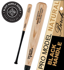 Pro Model Birch Natural - Black Handle Series