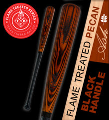 Pro Model Ash - Flame Treated Pecan |  Black Handle Series