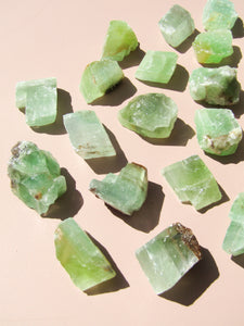 Green Calcite Rough - Small