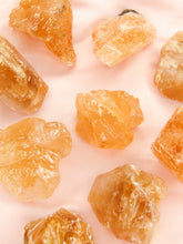 Load image into Gallery viewer, Honey Calcite rough - Mini - Lunar Crystals