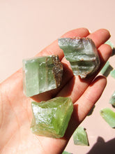 Load image into Gallery viewer, Green Calcite Rough - Small
