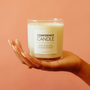 scented candle self care candle luxury candle