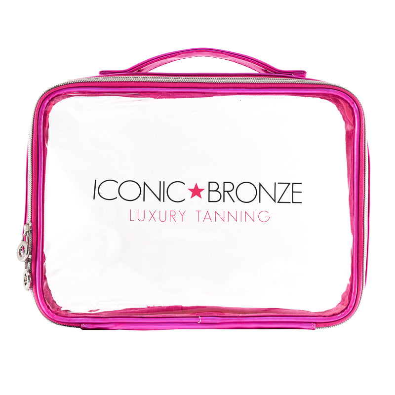 Iconic Bronze Cosmetic Bag