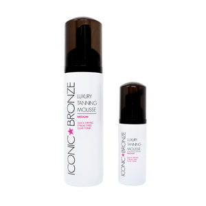 Iconic Bronze Mini Medium Luxury Tanning Mousse 50ml