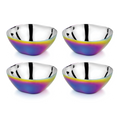 Stainless Steel Bowls, Set of 4