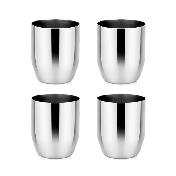 Classic stainless steel cups