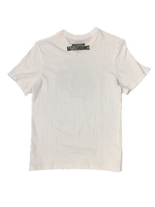 PUBG - Born to Loot Men's T-Shirt White (LARGE)