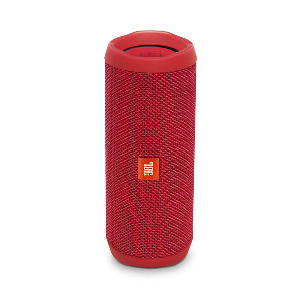 JBL Flip 4 Portable Bluetooth Speaker with Rechargeable Battery Waterproof Siri and Google Compatible - Red