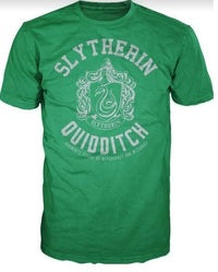 HARRY POTTER SLYTHERIN QUIDDITCH MALE TEE (L)