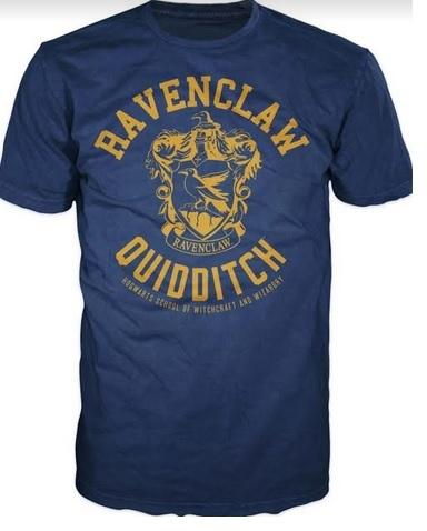 HARRY POTTER RAVENCLAW QUIDDITCH MALE TEE (S)