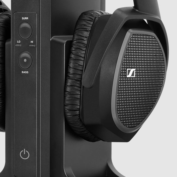 Sennheiser RS175 Surround Sound Headphones (Black)