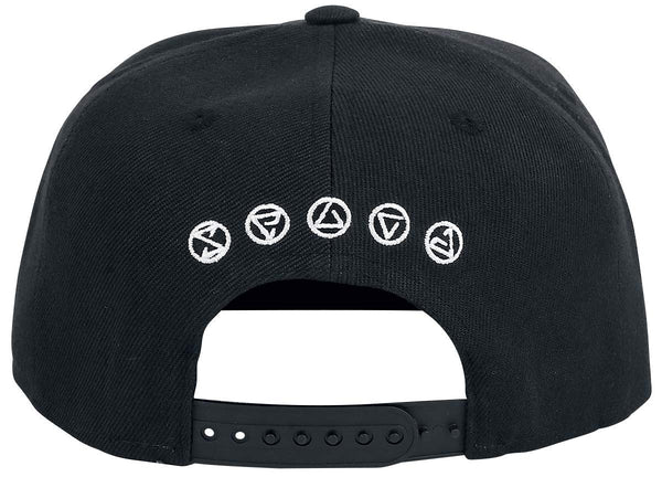 Witcher Wolf Medallion Snapback Cap Baseball Hat Black