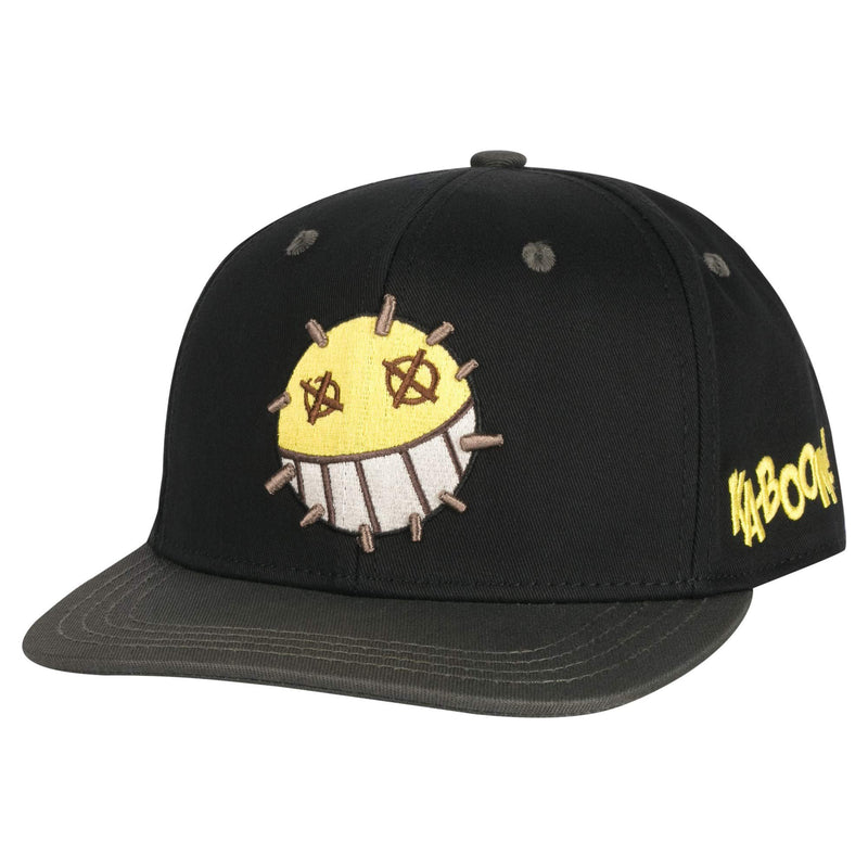 JINX Overwatch Junkrat Snapback Baseball Hat, Black, One Size