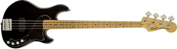 Fender Squier Deluxe Dimension Bass IV, BK Electric Bass Guitar (3 Tone Sunburst)