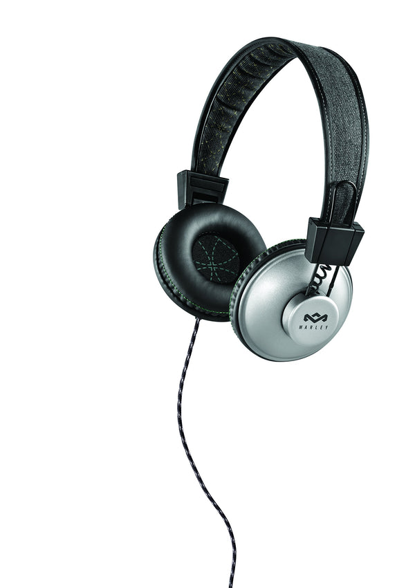 House of Marley Positive Vibration Pulse On-Ear Headphones (Black)
