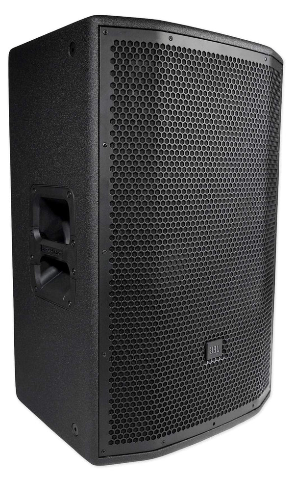 "JBL PRX815W 15"" 3000w Powered Speakers Active Monitors Wood Cabinets w/Wi-Fi"