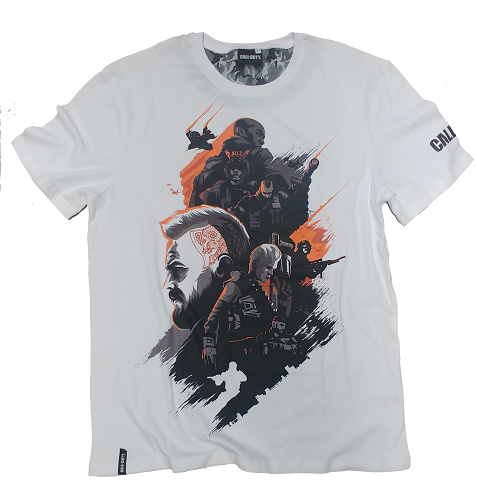 Call of Duty - Black Ops 4 Specialists Men's T-Shirt - White (XL)