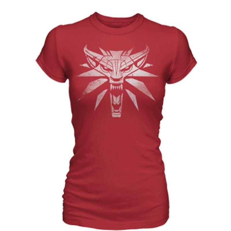 THE WITCHER 3 WHITE WOLF WOMEN'S TEE (XL)