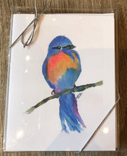 Load image into Gallery viewer, Blue Bird Note Cards - Set of Six