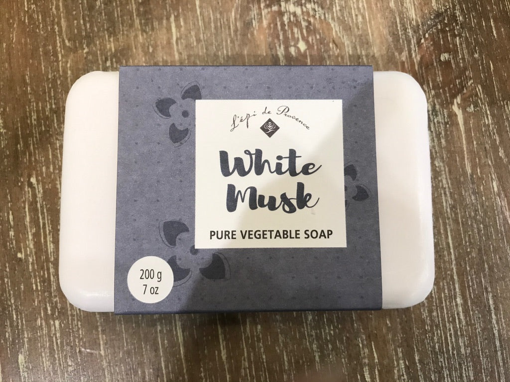 Lepi de Provence Pure Vegetable Soap - White Musk