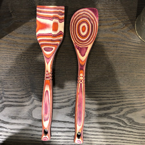 Pakka Hardwood Colored Spoons