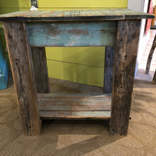 Load image into Gallery viewer, Handmade Turquoise End Table
