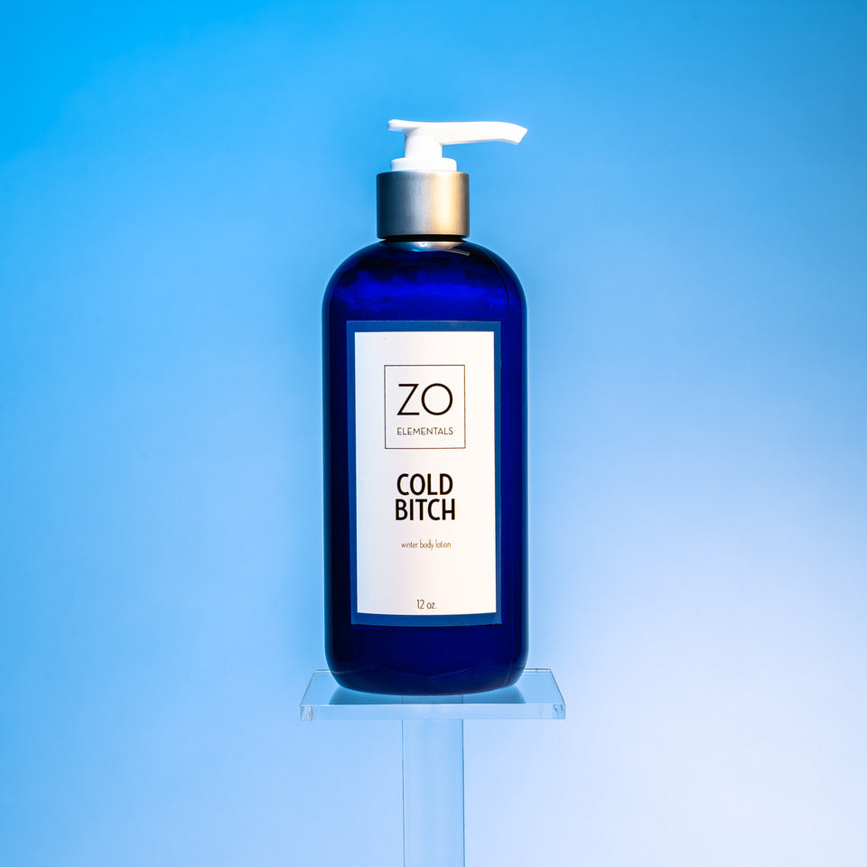 Zo Elementals Cold Bitch Winter Body Lotion