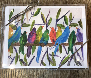 Birds of A Feather Note Cards - Set of Six