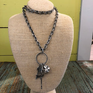 Hope Necklace w/Charms