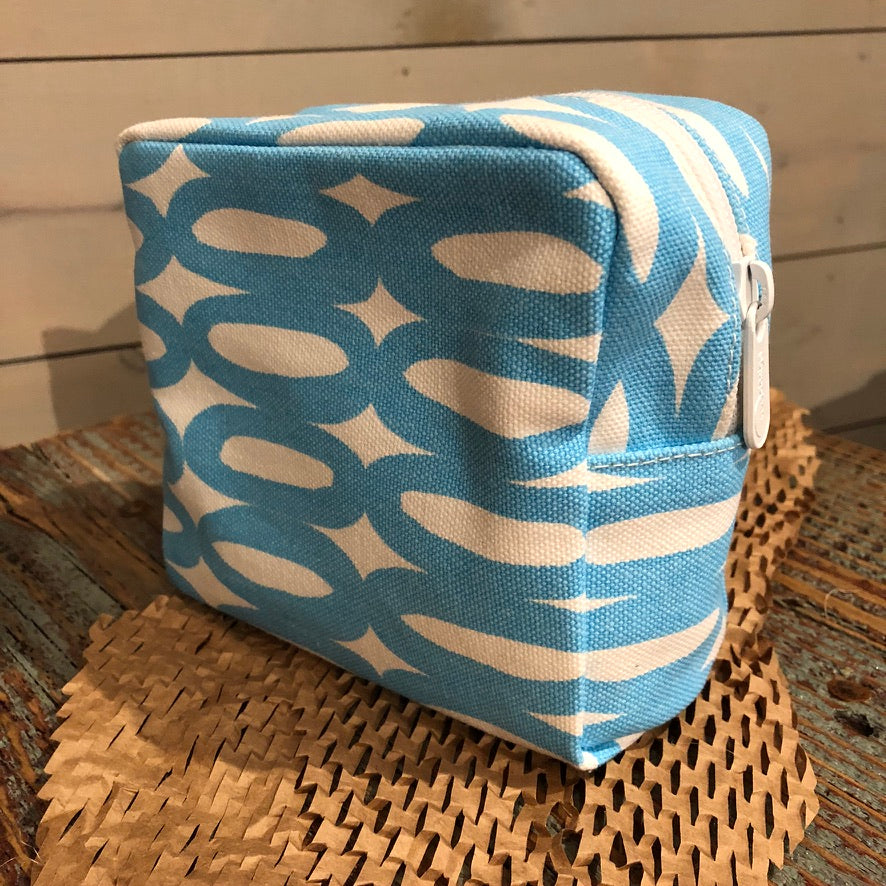 Turquoise Make Up Bag