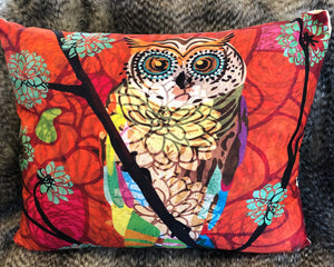"""Owly"" Colorful Pillow"