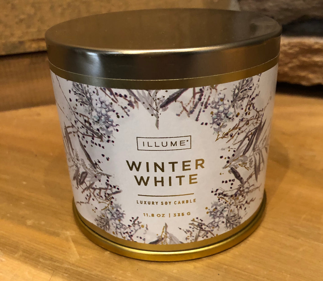 Winter White 11.8oz Soy Candle