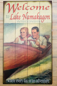 """Welcome To Lake Namakagon"""