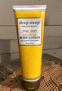Mango Papaya Argan Oil Body Lotion