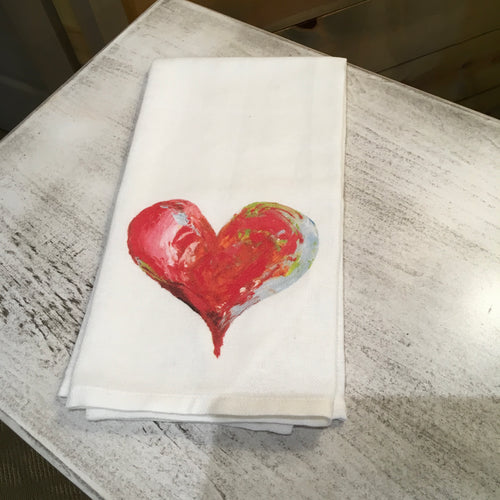 Heart Dish Towel