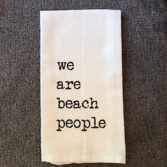We Are Beach People Hand Towel