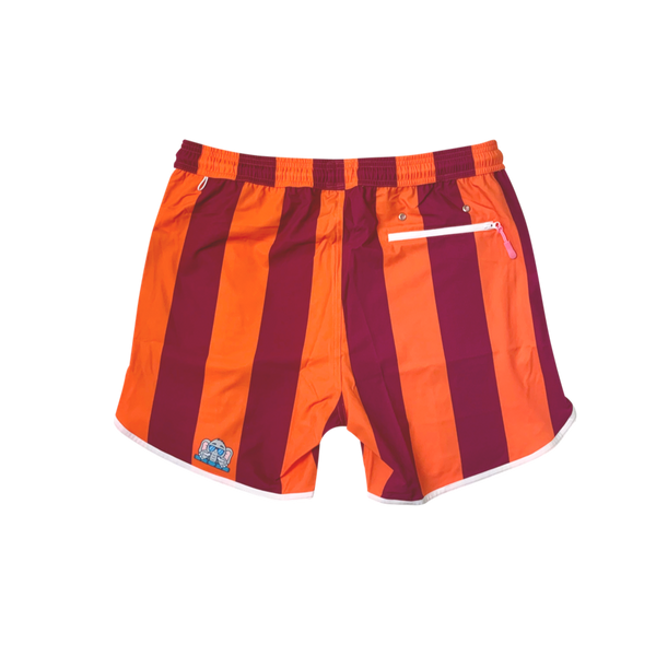 Maroon and orange shorts for gameday tailgate Virginia Tech