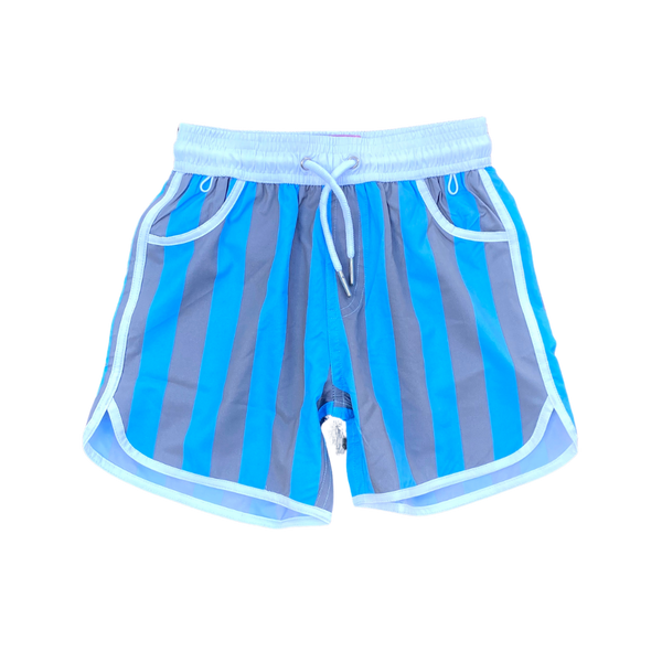 Blue/Grey Block Stripe (YOUTH)