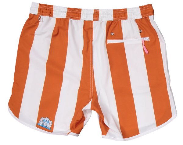 Burnt Orange Texas shorts for gameday tailgate